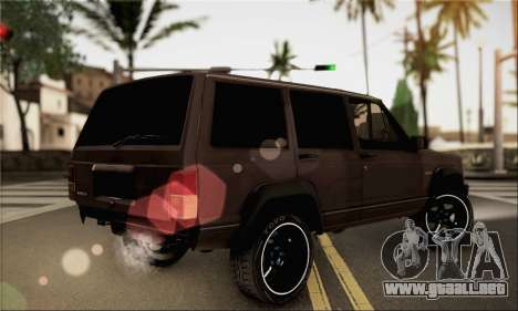 Jeep Cherokee para GTA San Andreas left