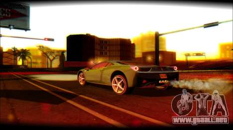 DayLight ENB for Medium PC para GTA San Andreas sucesivamente de pantalla