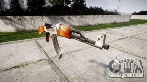 El AK-47 HD para GTA 4