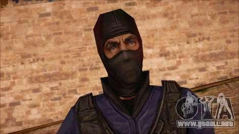 GIGN from Counter Strike Condition Zero para GTA San Andreas tercera pantalla