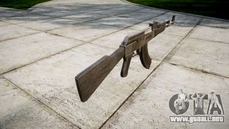 El AK-47 Gris para GTA 4 segundos de pantalla