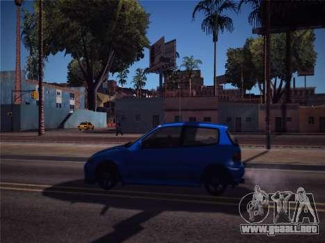 Honda Civic JDM Edition para GTA San Andreas vista posterior izquierda
