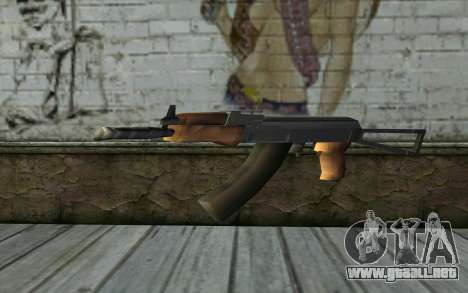AK-47 de Hitman 2 para GTA San Andreas segunda pantalla