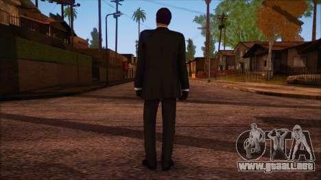 GTA 5 Online Skin 14 para GTA San Andreas segunda pantalla