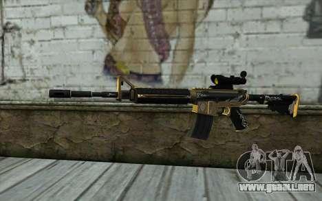 M4A1 from PointBlank para GTA San Andreas