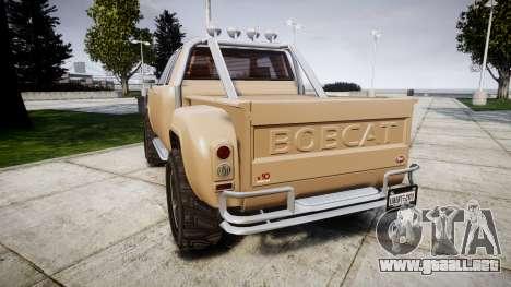 Vapid Bobcat Desert para GTA 4 Vista posterior izquierda