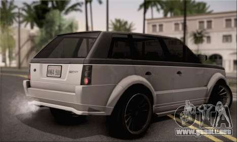Vapid Huntley para GTA San Andreas left