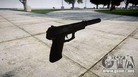 Pistola HK Mk.23 para GTA 4 segundos de pantalla