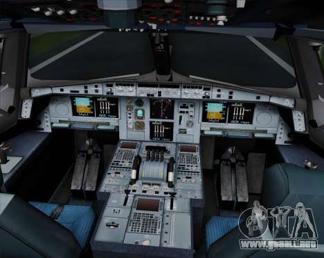 Airbus A380-800 Hainan Airlines para GTA San Andreas interior