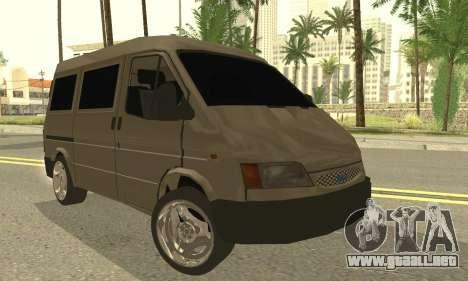 Ford Transit 1997 Medium Roof para GTA San Andreas