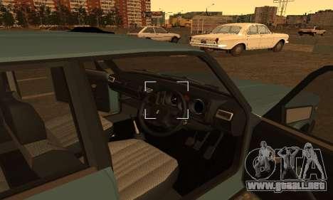 Lada 2104 Riva para GTA San Andreas vista posterior izquierda