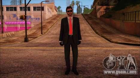 GTA 5 Online Skin 14 para GTA San Andreas