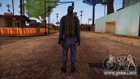 GIGN from Counter Strike Condition Zero para GTA San Andreas segunda pantalla