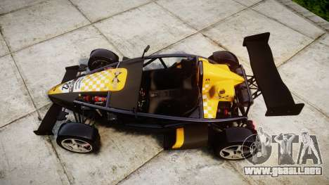 Ariel Atom V8 2010 [RIV] v1.1 Tool Safe para GTA 4 visión correcta