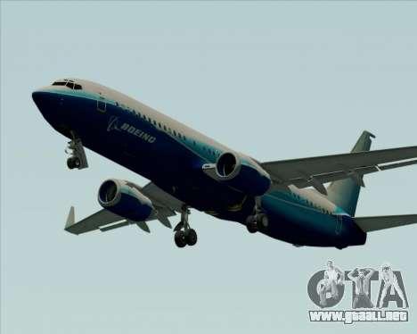 Boeing 737-800 House Colors para visión interna GTA San Andreas