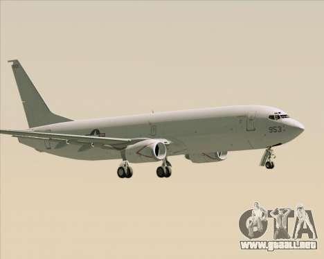 Boeing P-8 Poseidon US Navy para la visión correcta GTA San Andreas