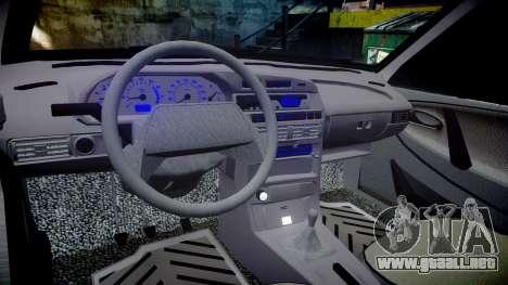 VAZ-2113 en el pneuma para GTA 4 vista interior