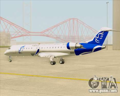 Embraer CRJ-700 China Express Airlines (CEA) para visión interna GTA San Andreas