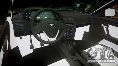 ВАЗ-2110 Bogdan rims2 para GTA 4 vista hacia atrás