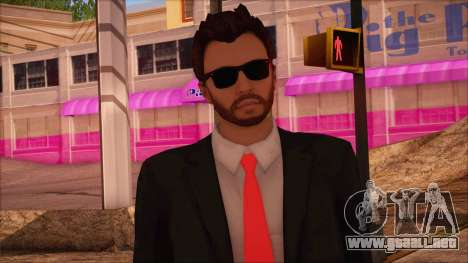 GTA 5 Online Skin 14 para GTA San Andreas tercera pantalla