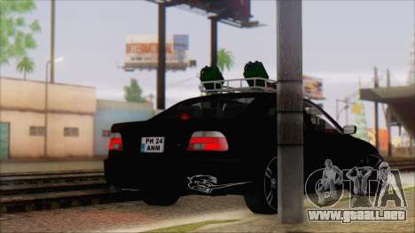 BMW 520d E39 2000 para GTA San Andreas left
