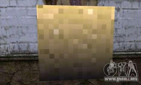 Bloque (Minecraft) v6 para GTA San Andreas