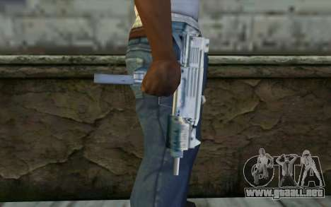 MP5 from GTA Vice City para GTA San Andreas tercera pantalla