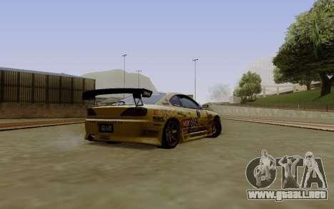 Nissan Silvia S15 NGK Motorsport para GTA San Andreas left