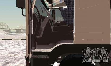 Iveco EuroTech Inflamables para GTA San Andreas vista hacia atrás