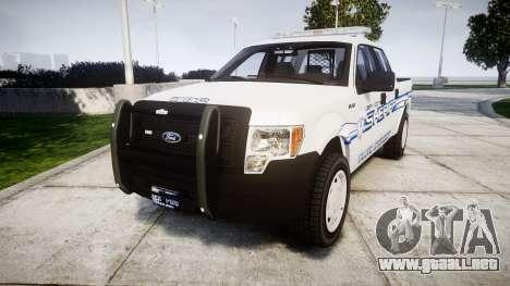 Ford F-150 [ELS] Liberty County Sheriff para GTA 4