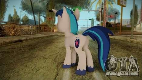 Shining Armor from My Little Pony para GTA San Andreas segunda pantalla