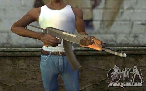 AK-47 de Hitman 2 para GTA San Andreas