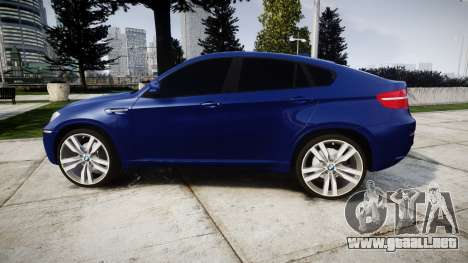 BMW X6M rims1 para GTA 4 left