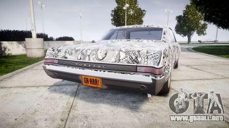 Pontiac GTO 1965 Sharpie para GTA 4 Vista posterior izquierda