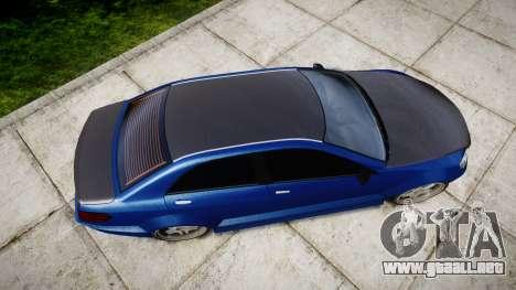 Benefactor Schafter Mercedes-Benz para GTA 4 visión correcta
