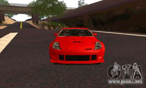 Nissan 350Z Tune para GTA San Andreas left