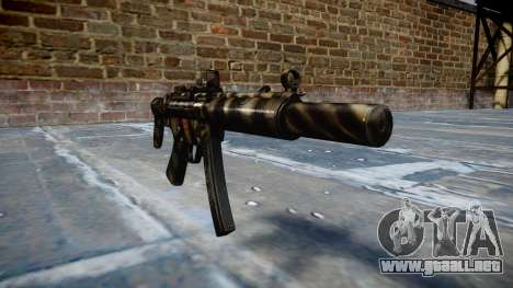 Pistola de MP5SD DRS CS c de destino para GTA 4