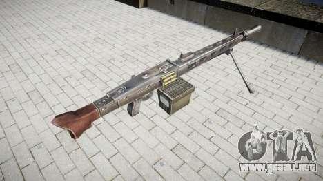 Alemán ametralladora MG3 icon3 para GTA 4 segundos de pantalla