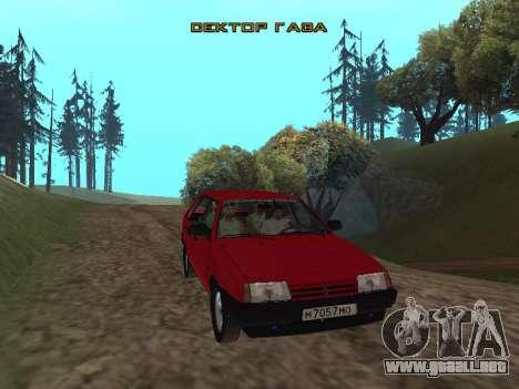 Grupo de Radio de Gaza para GTA San Andreas tercera pantalla