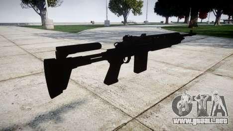 Fusil automático Mk 14 para GTA 4 segundos de pantalla