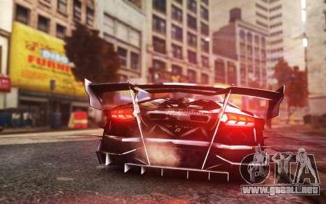 Lamborghini Aventador TZR R-Tech para GTA 4 left