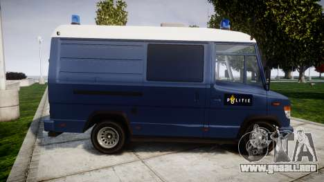 Mercedes-Benz Vario 614D SWAT [ELS] para GTA 4 left