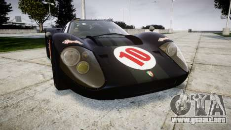 Ford GT40 Mark IV 1967 PJ Scuderia Westfalia 10 para GTA 4