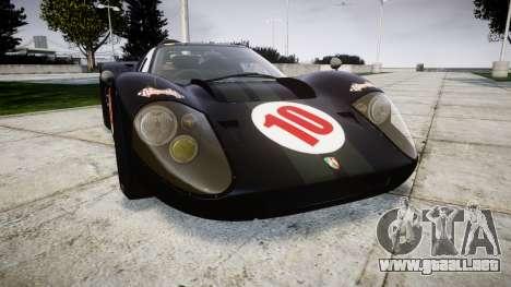Ford GT40 Mark IV 1967 PJ Scuderia Westfalia 10 para GTA 4