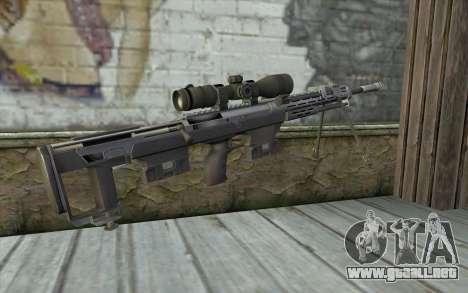 Sniper Rifle from Sniper Ghost Warrior para GTA San Andreas segunda pantalla