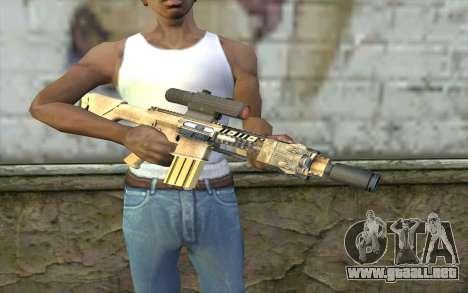 M110 Cuarter Combat Rifle para GTA San Andreas tercera pantalla