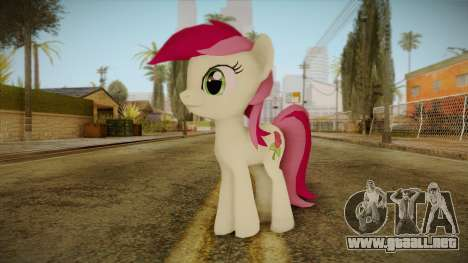 Roseluck from My Little Pony para GTA San Andreas