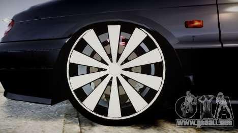 VAZ-2113 en el pneuma para GTA 4 vista hacia atrás