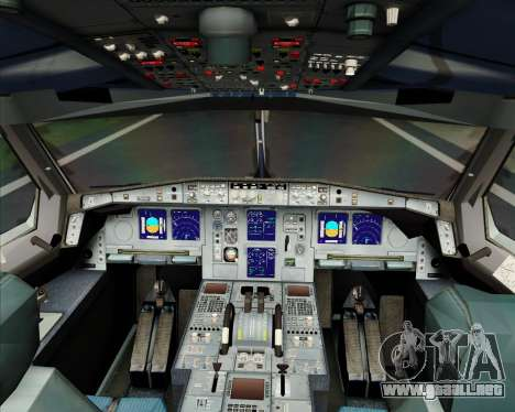 Airbus A340-600 Turkish Cargo para GTA San Andreas interior