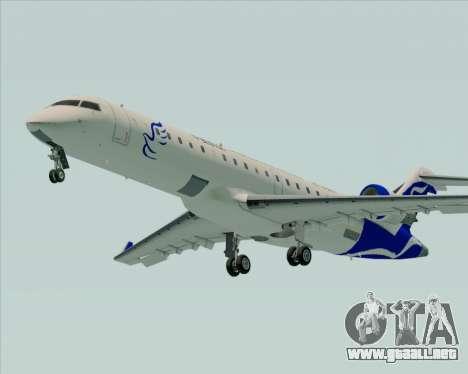 Embraer CRJ-700 China Express Airlines (CEA) para GTA San Andreas vista posterior izquierda